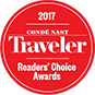 2017 Traveler Reader Choice Awards
