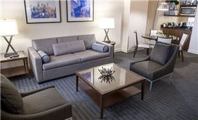 Executive Suite at Ellis Hotel in Atlanta