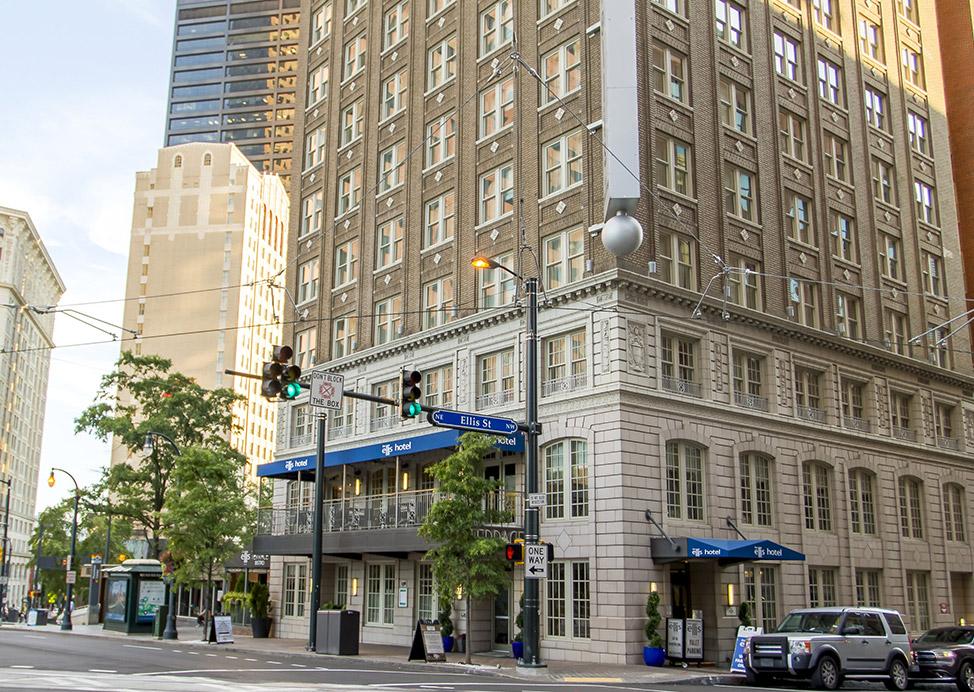 The Ellis Hotel Location, Atlanta