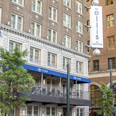 Awards and Accolades of our Top-rated Ellis Hotel Atlanta
