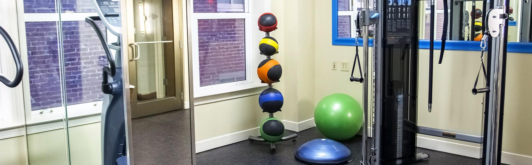 Fitness Center at Ellis Hotel, Atlanta