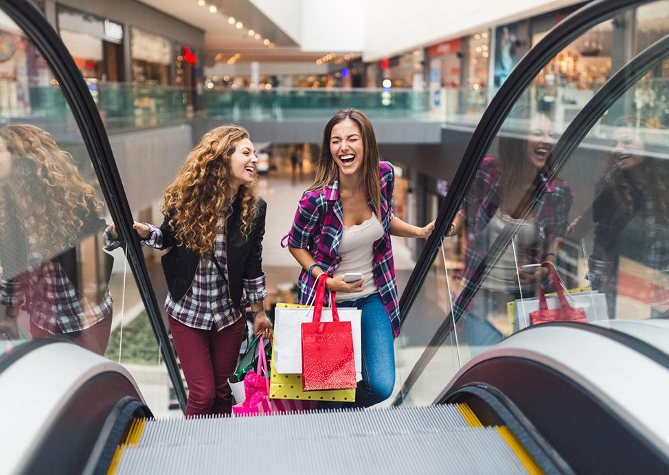 Lenox Square Mall Near Our Hotel in Atlanta