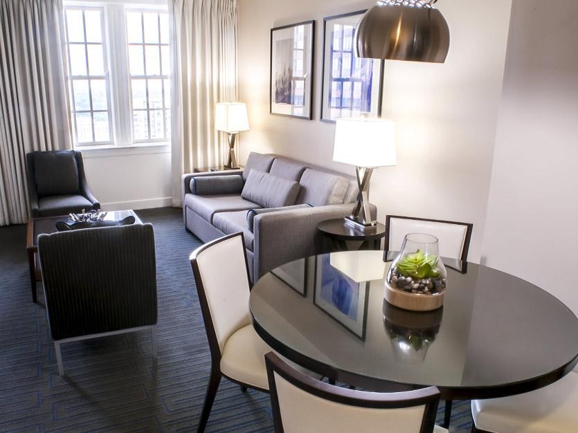One Bedroom Executive Suite at The Ellis Hotel, Atlanta