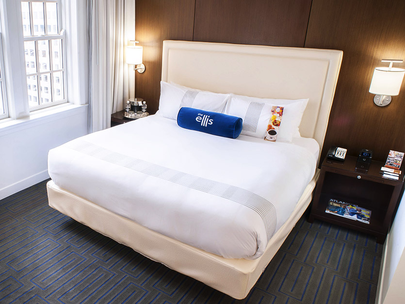 Deluxe King Accommodations at The Ellis Hotel, Atlanta